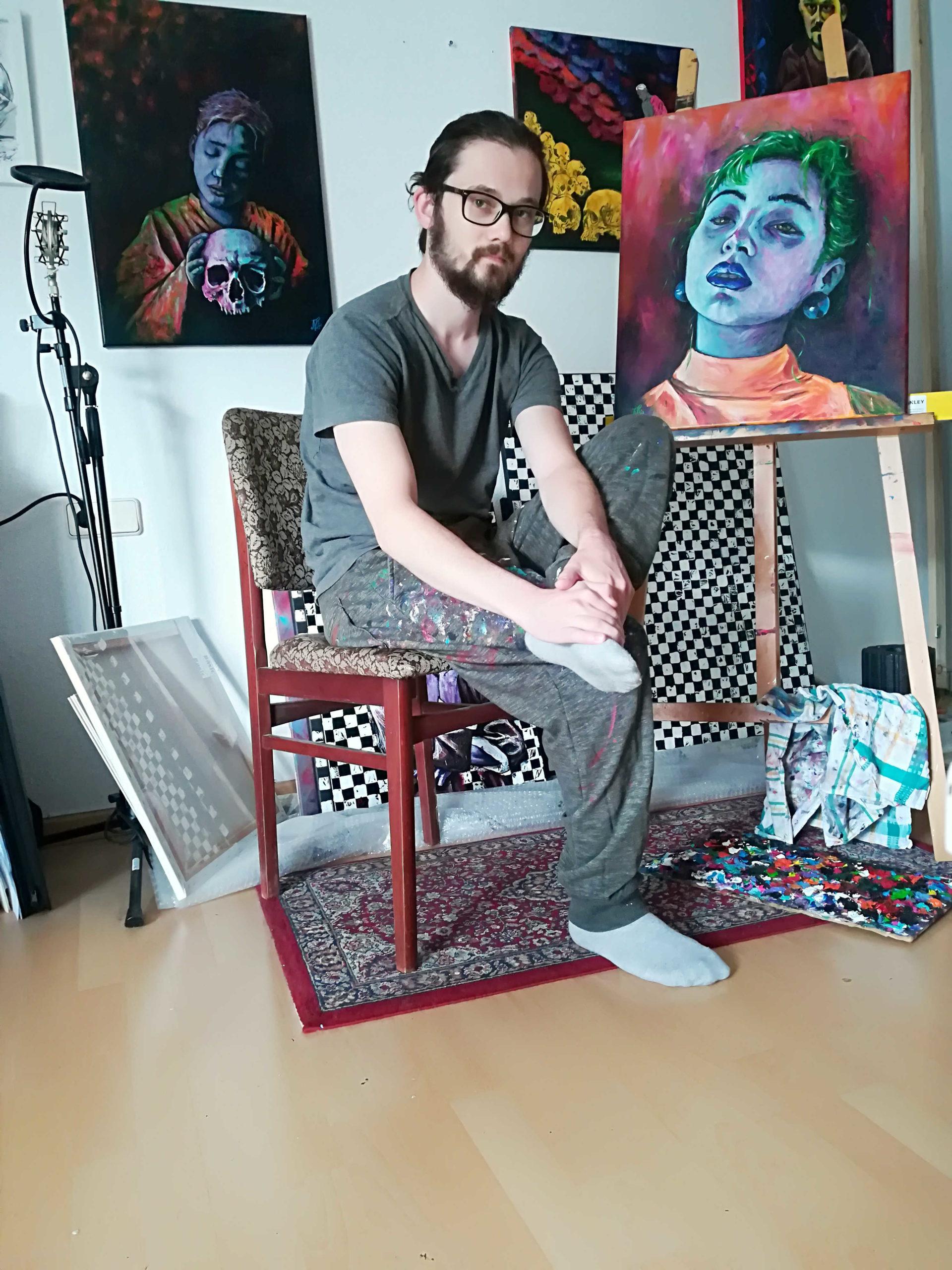Marius Rehwalt - Maler/Autor